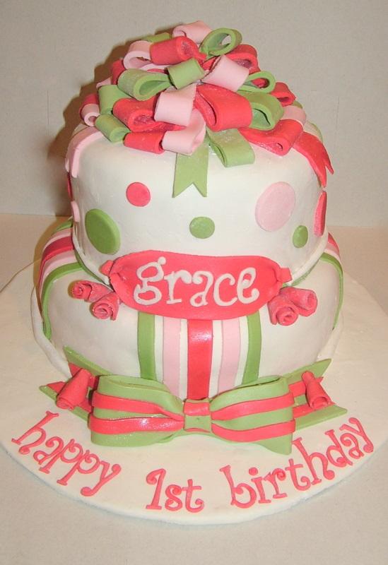 A Piece Of Cake Pretty Birthday Cake