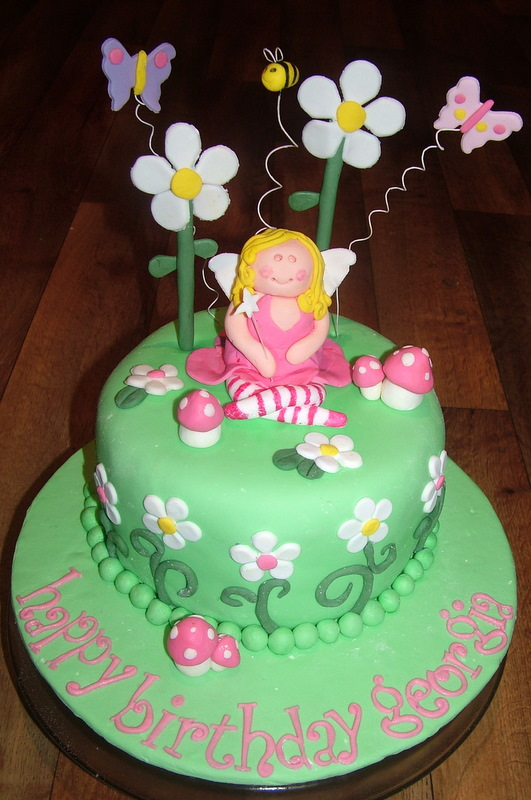 Piece of Cake: Fairy Garden Cake