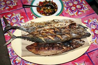 Resep Ikan Tongkol Bakar Pedas