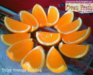 Pulpy Orange Pudding