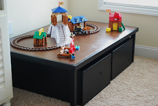 Now The Kids Donu0027t Have To Go To The Bathroom Floor To Play With Their  Blocks, Lincoln Logs, And Their Train Tracks...I Know Youu0027re Digging The  Lincoln Log ...