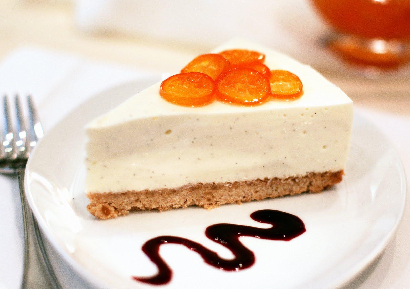 Tish Boyle Sweet Dreams: Whipped Vanilla Bean Cheesecake with Kumquats ...