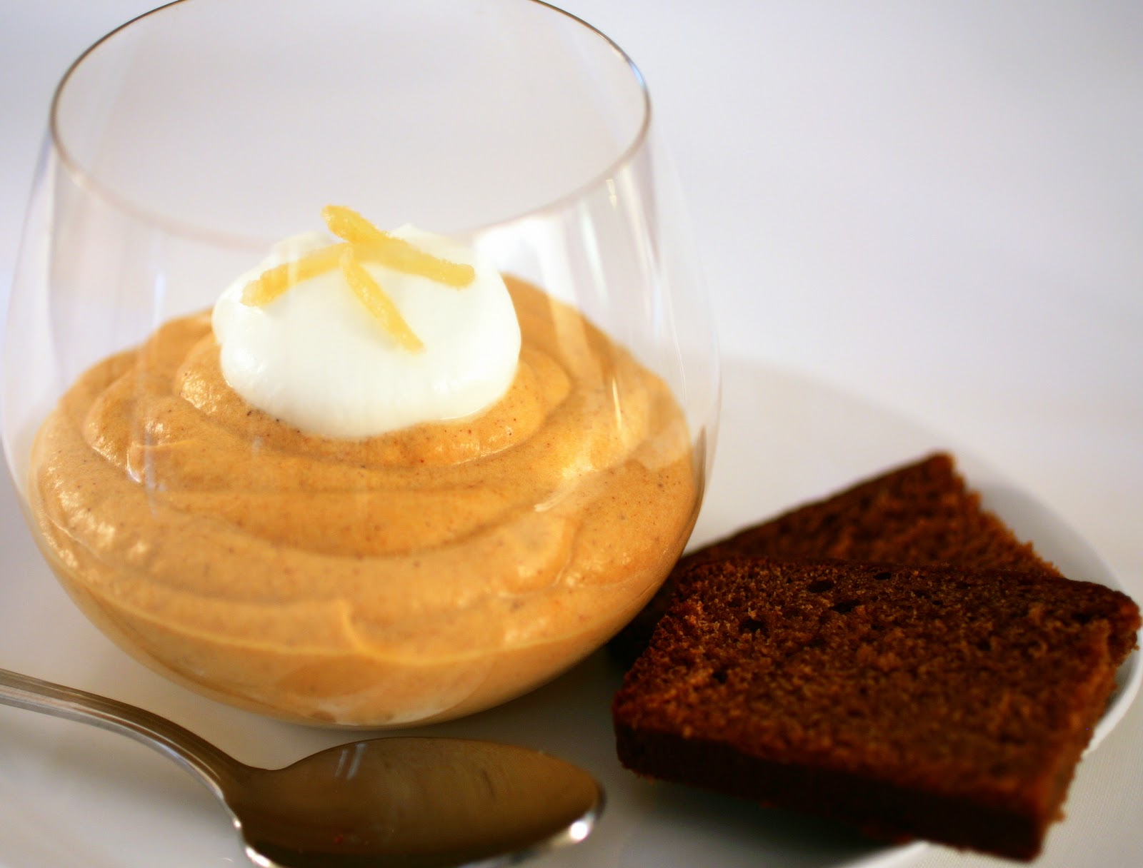 Pumpkin Mousse Pie - I've got big ideas for a non-dairy version!