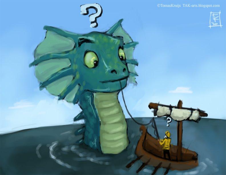 Sea Dragons Drawings Shut up And Draw a Sea Dragon