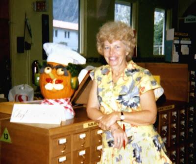 WCC's first librarian, Katherine DeEtta Wilson