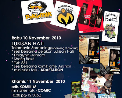 PeKOMIK & Komik M di Multimedia College, KL 11 Nov 2010