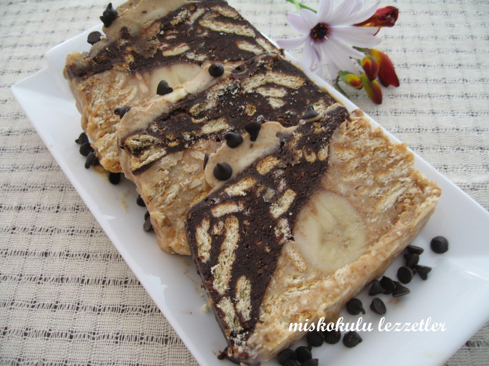 Kahveli Mozaik Pasta Tarifi