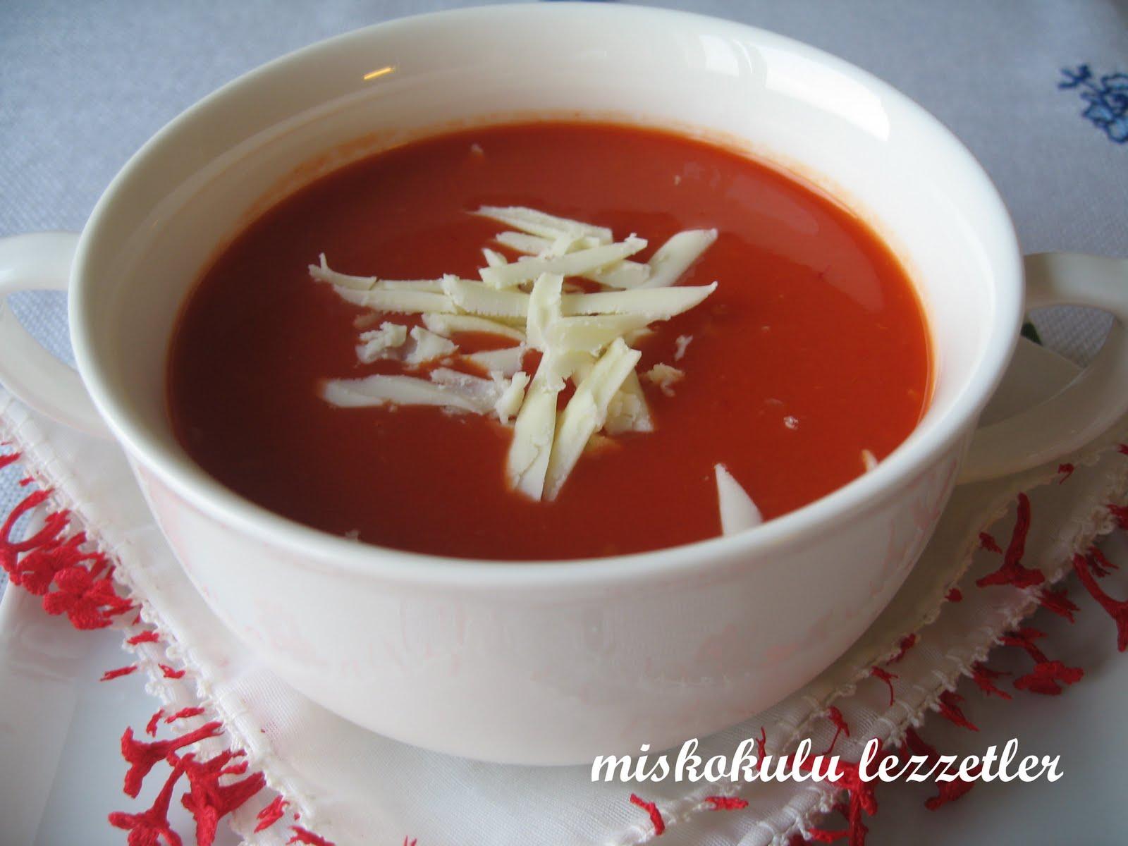 miskokulu lezzetler: Domates Çorbası