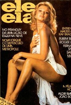 Vera Pousou Para Revistas Masculinas Entra As Quais A Status E Eleela