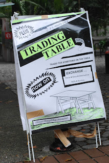 Eve Armstrong - Trading Table Sign