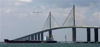 Courtesy Chris O'Meara / AP Around 120 people have killed themselves by jumping off the Sunshine Skyway Bridge since it opened in April 1987.