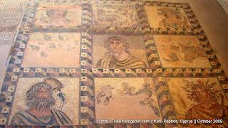 Античная мозаика Като Пафоса, Кипр by TripBY