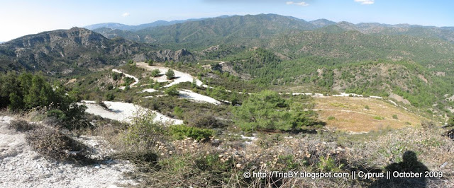 Горы Кипра, панорамный снимок by TripBY.info