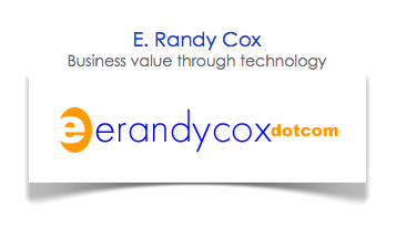 30 Second Blogs from E. Randy Cox