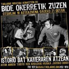 ISTORIO BAT KAMERAREN ATZEAN