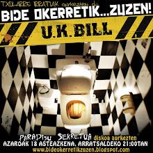 U.K. BILL taldearekin elkarrizketa