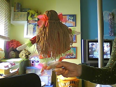 os cabelos da Carlota!!!