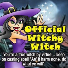 Official Witchy Witch Award From Kat