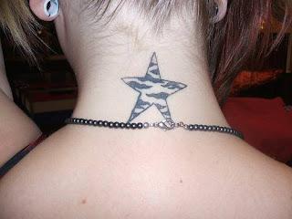tattoo-estrela-pescoço