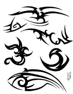 foto tatuagem tribal