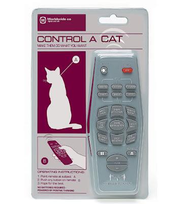 controle remoto para gatos
