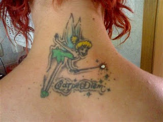 tatuagem de fada com microdermal