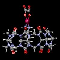 cucurbit[7]uril-oxaliplatin complex