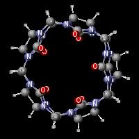 cucurbit[5]uril in 3-D