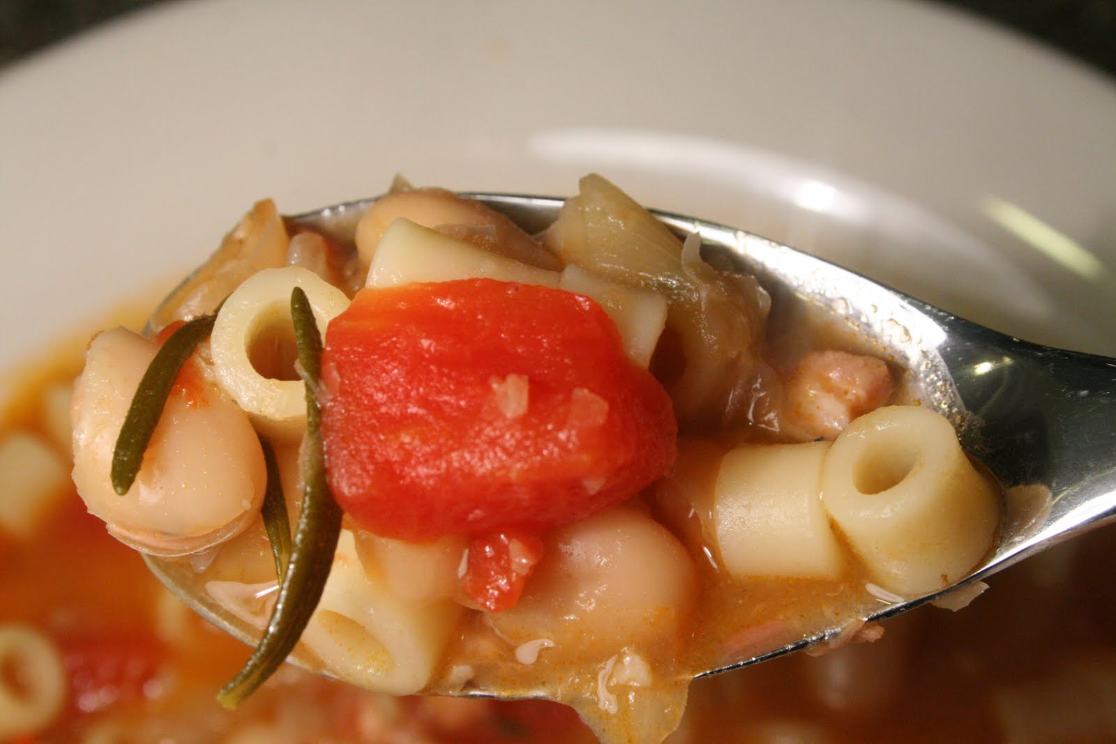 pasta e ceci soup - Home - the peche