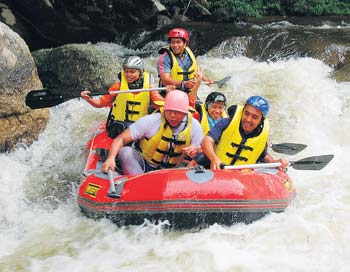White Water Rafting Sg Sedim