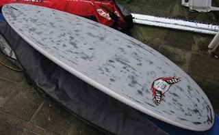 HTS SR59 speed slalomboard