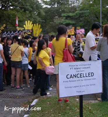 Cancellation of FT Island concert in Malaysia