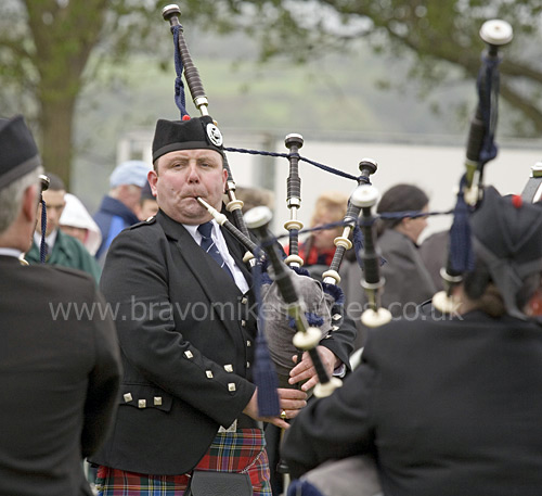 Scottish Bands: Judges At The Scottish Pipe Band Championships, Dumbarton
