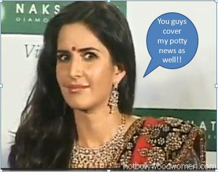 Dont Blame Us A Famous Newspaper Reported That Katrina Kaif Used The Toilet