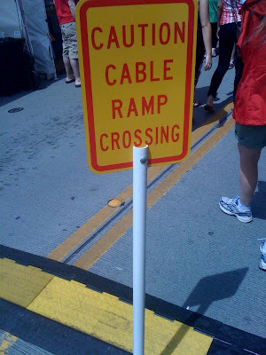 Cable crossing