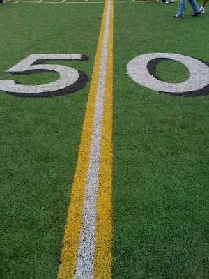 50 yard line!