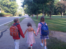 Walking to School!!
