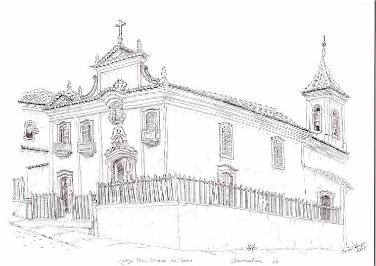 Igreja N.S. Carmo - Diamatina-MG