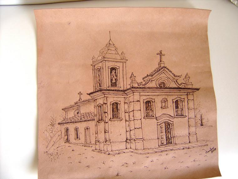 Capela do Rosário - Prados - MG