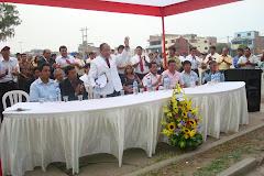FLAMANTE DIRECTOR EJECUTIVO DE LA DRS VES LPP, DR. RODY ALVA OCROSPOMA