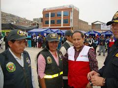 DR. RODY ALVA OCROSPOMA Y LAS JUNTAS VECINALES DE VILLA EL SALVADOR