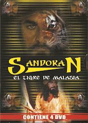 Sandokan, El Tigre de la Malasia (Serie). Pack 4 DVDs.