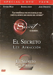 El Secreto + La Ley de Atraccion 1 y 2. Pack 4 DVDs. (Australia- E.E.U.U.)
