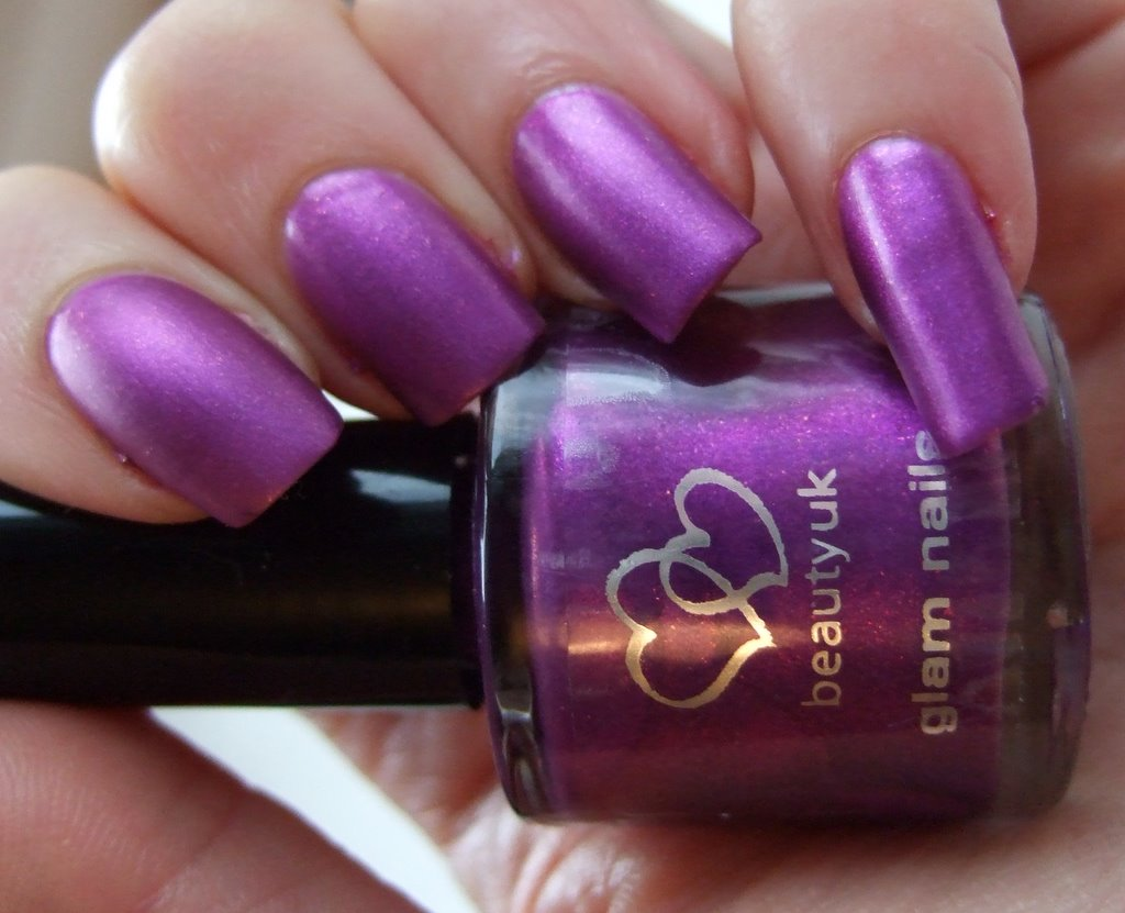 electric purple nail polish - photo #14