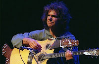 picture of Pat Metheny playing guitar