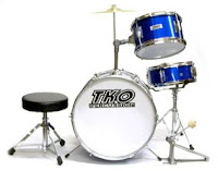 photo of basic drumset