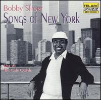 Album Cover for Bobby Short's Songs of New York