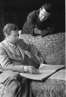 photo of Benjamin Britten and Peter Pears