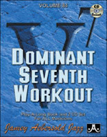 cover of Aebersold Dominant 7th Workout book/CD