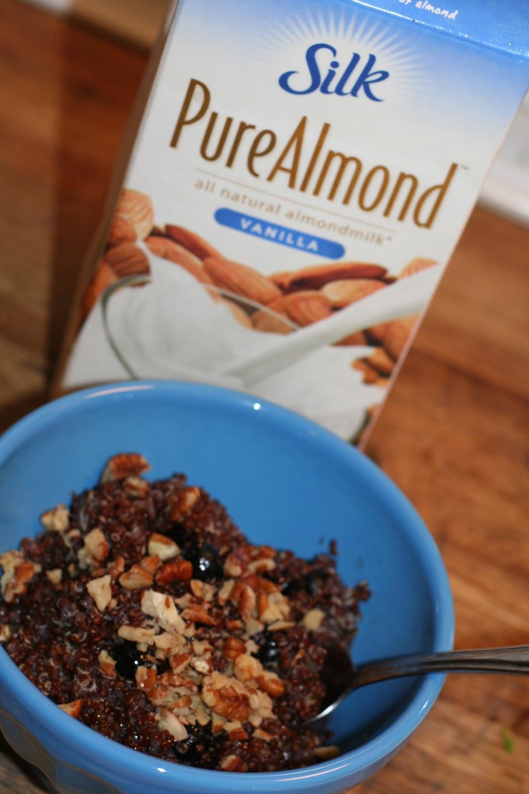 Bringing Up Burns: Warm Nutty Cinnamon Quinoa